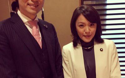 市川・伏姫観桜会でSPEEDの今井絵理子さんにお会いしました!
